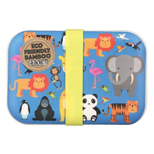 Zoo Bamboo Lunch Box
