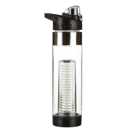 Black Infuser Sports Bottle