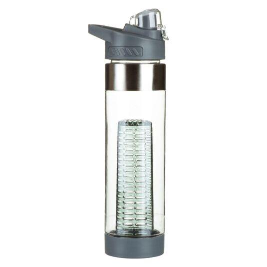 Grey Infuser Sports Bottle