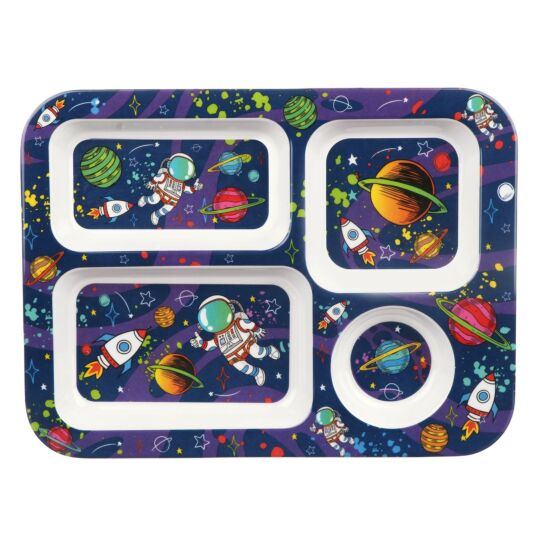 Leonardo's Little Stars Spaceman Tray