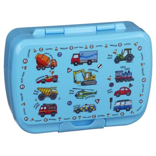 Leonardo's Little Stars Vehicles Lunch Box