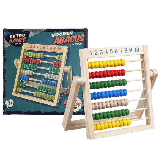 Wooden Retro Abacus