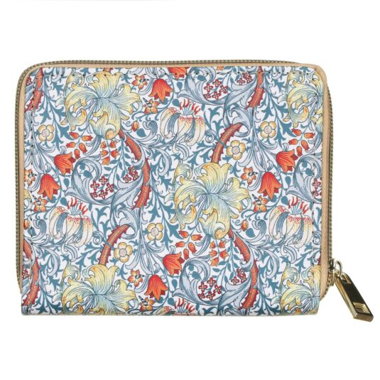 William Morris Golden Lily Wallet