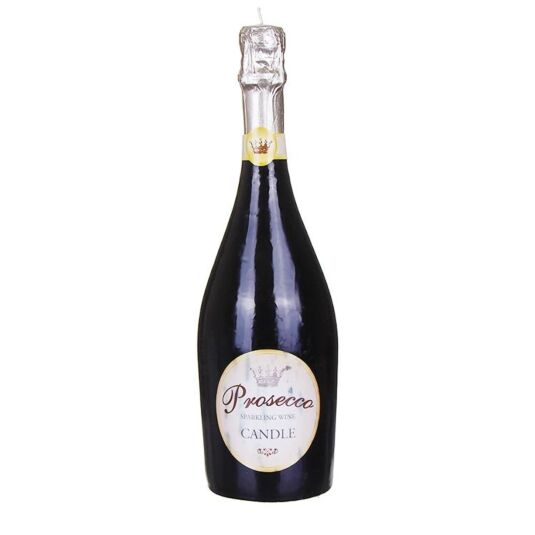Prosecco Bottle Candle
