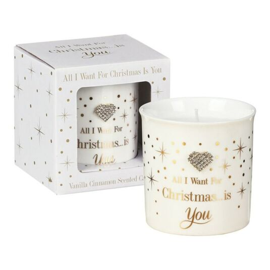 Mad Dots 'All I Want for Christmas' Fragranced Candle
