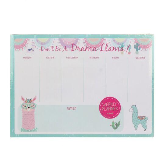 Drama Llama Weekly Planner