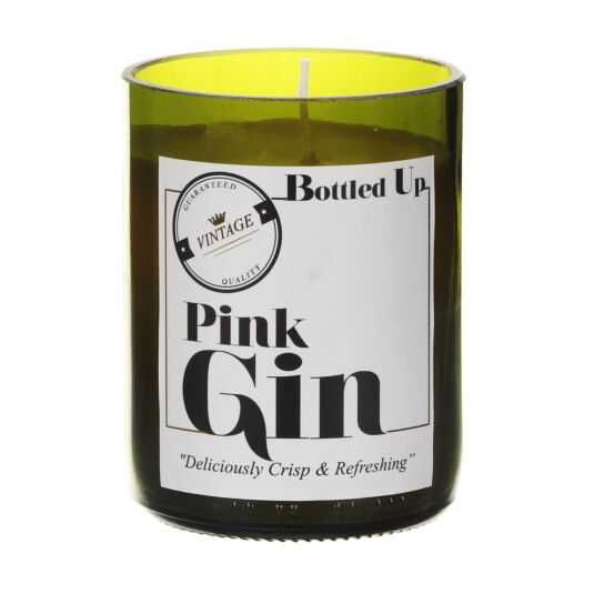 'Bottled Up' Pink Gin Scented Candle