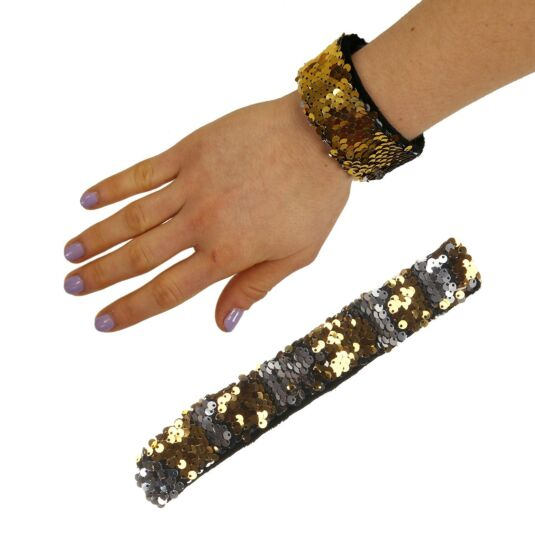 Gold/Silver Sequin Mermaid Wristband