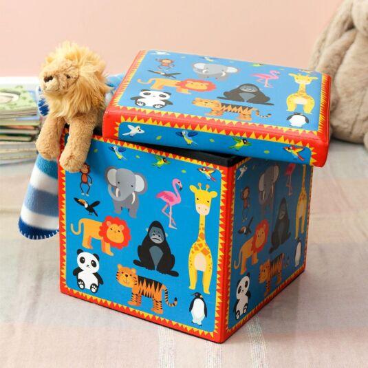Zoo Flat Pack Storage Box