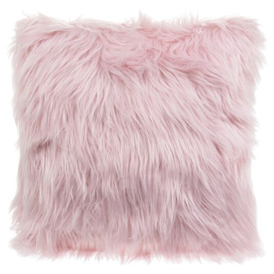 Pink Furry Cushion