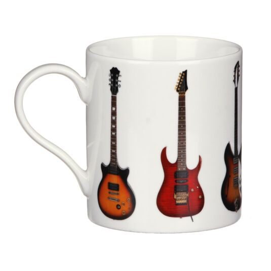 Guitars Fine China Mug