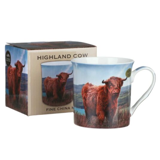 Highland Cow Boxed Mug