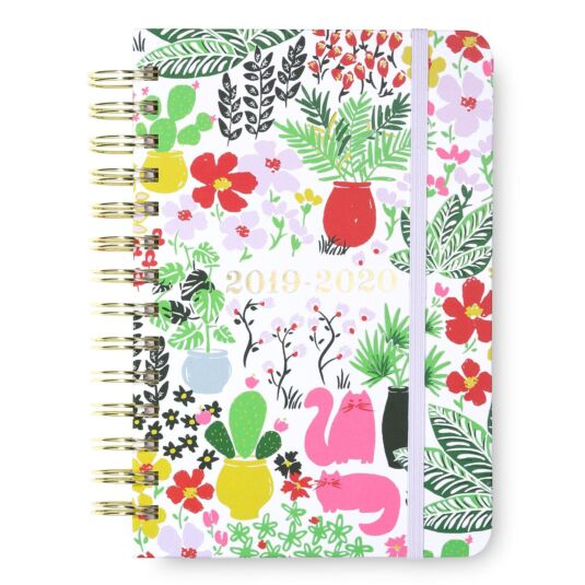 Garden Posy 17 Month 2019-2020 Medium Academic Diary