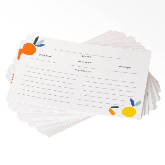 Citrus Twist Recipe Card Refills