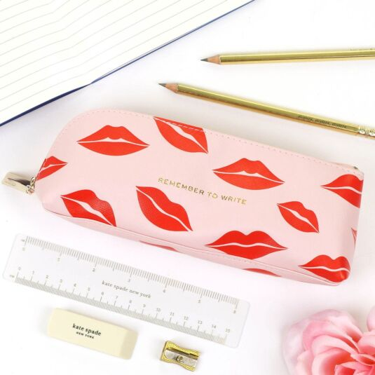 Lips Filled Pencil Case