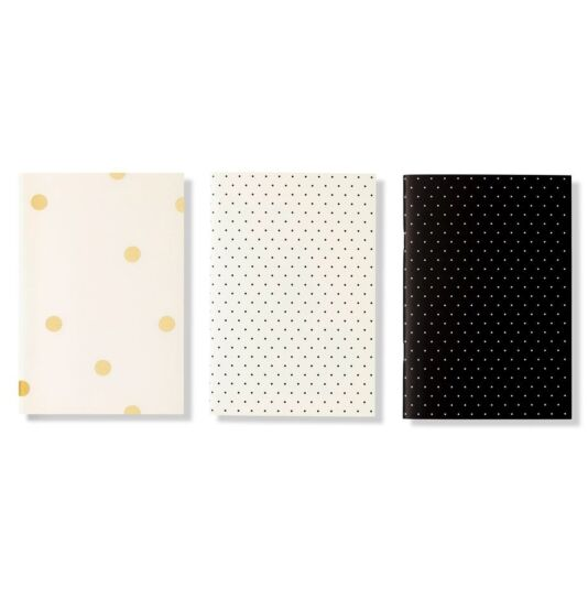 Black Dot Triple Notebook Set