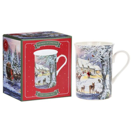 The Magic of Christmas Fine China Mug