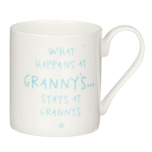 'What happens at Granny's…' Mug