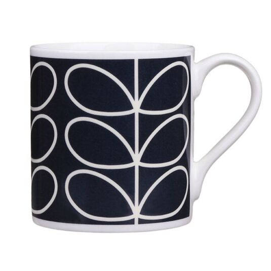Linear Stem Blue Large Mug