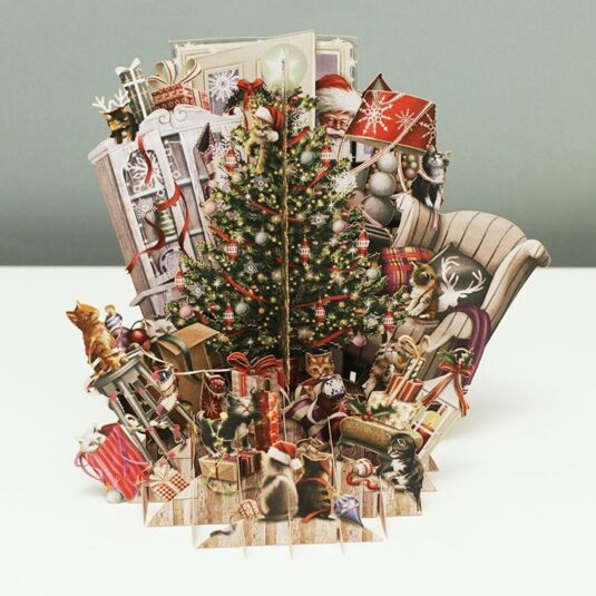 'Hygge Tree' 3D Christmas Card