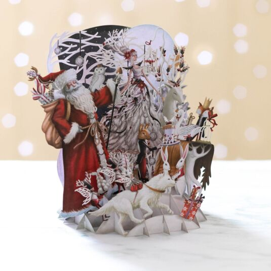'White Magic' Pop Up Christmas Card