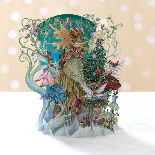 'Fairy Queen' Pop Up Christmas Card