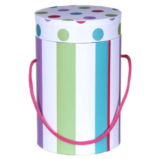 Stripes and Spots Large Candle Gift Box