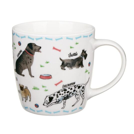 Debonair Dogs New Bone China Mug