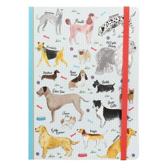 Debonair Dogs A5 Notebook