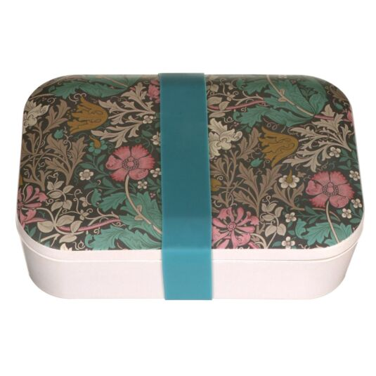 morris  co bamboo compton lunch box  campus gifts