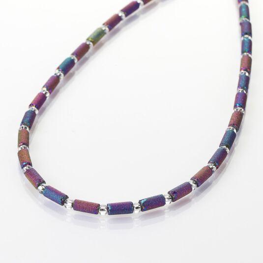 Spectrum Lava Tubes Full Necklace
