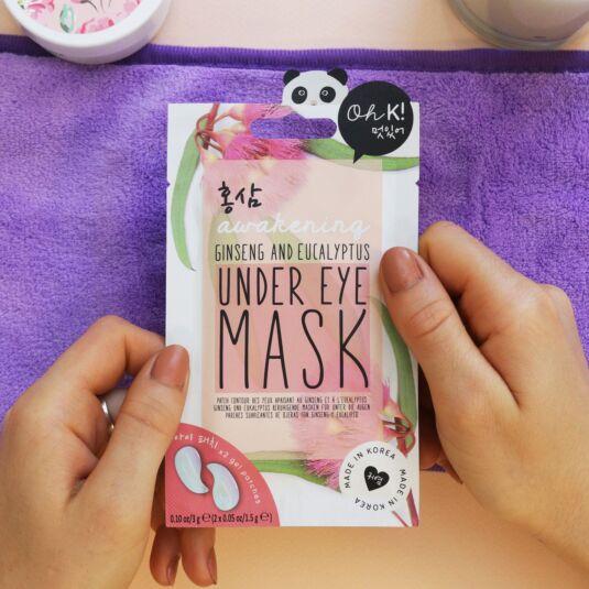 Oh K! Ginseng & Eucalyptus Under Eye Mask