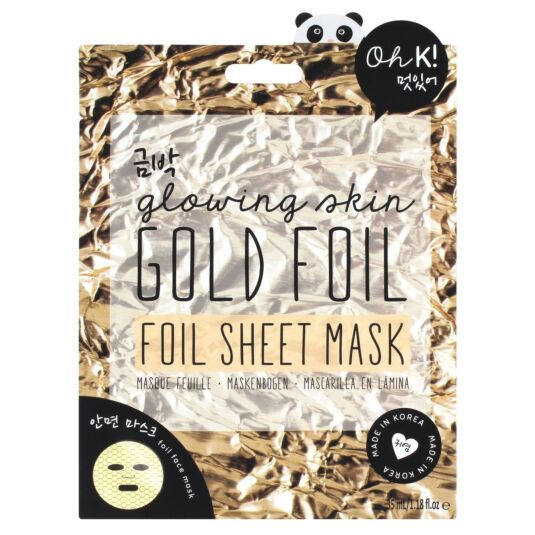 Oh K! Gold Foil Sheet Face Mask