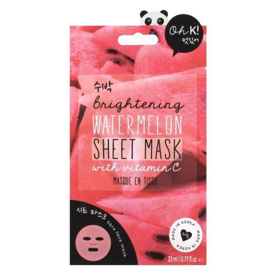 Oh K! Vitamin C Watermelon Sheet Face Mask