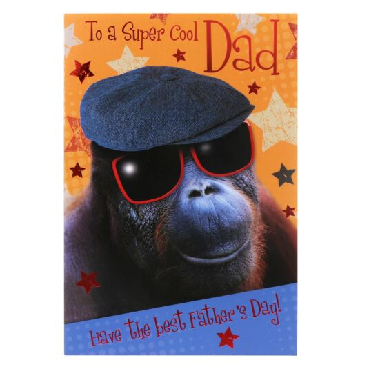 'To A Super Cool Dad' Father's Day Card