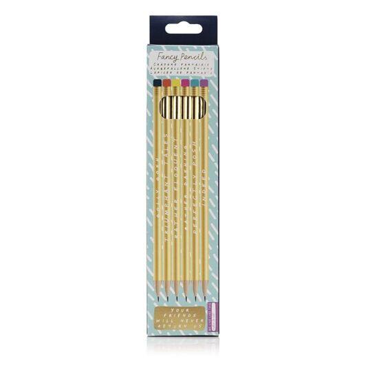 Note To Self 'Fancy' Pencils