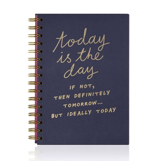 Notes To Self - Today Is The Day Notebook