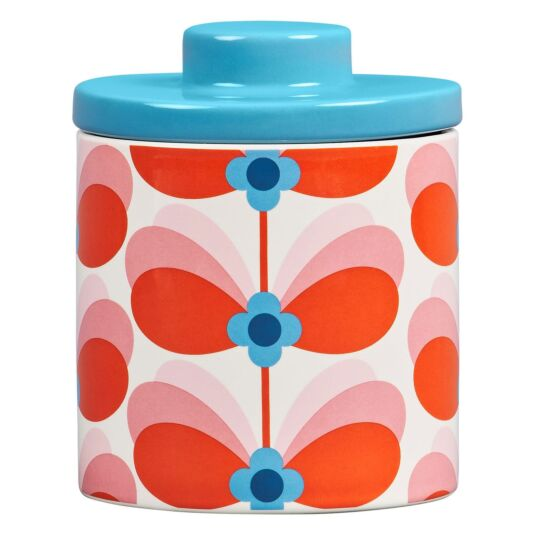 Butterfly Stem Bubblegum Large Storage Jar