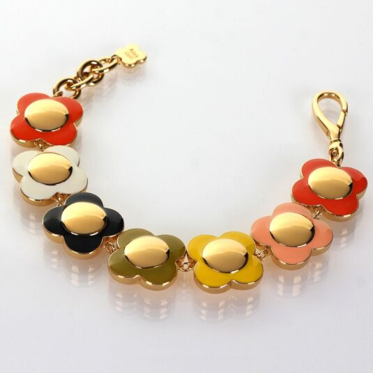 Flower Spot Gold-Plated Bracelet