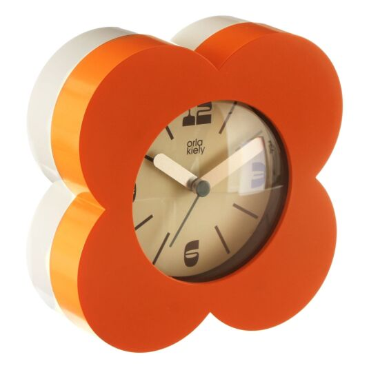 Orange Spot Alarm Clock