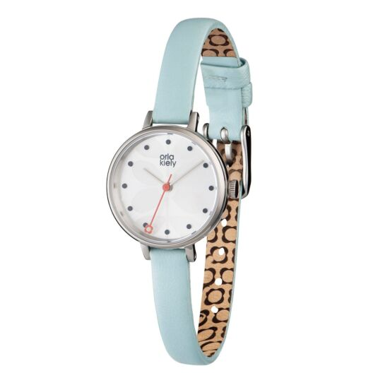 Ivy Watch with Pale Blue Strap