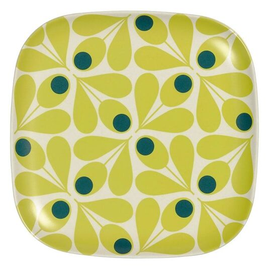 Acorn Spot Yellow Side-Plate