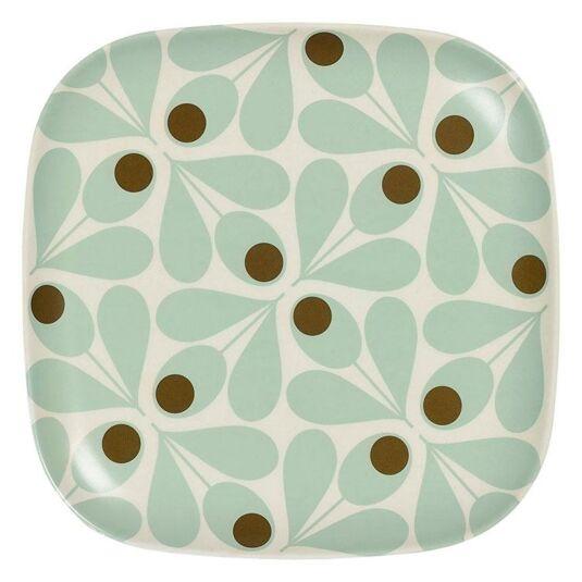 Acorn Spot Duckegg Blue Side-Plate