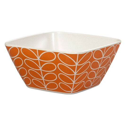 Linear Stem Orange Bowl