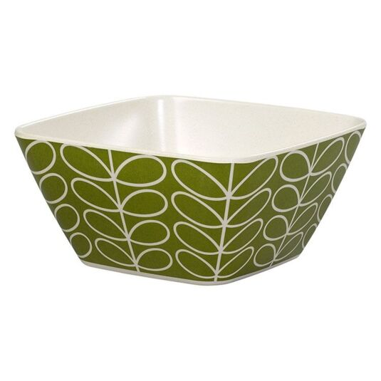 Linear Stem Green Bowl