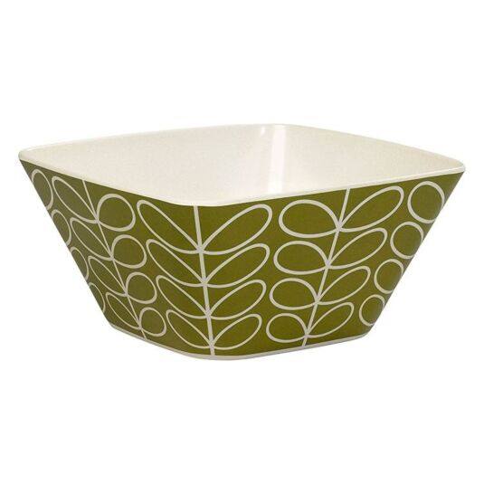 Linear Stem Green Salad Bowl