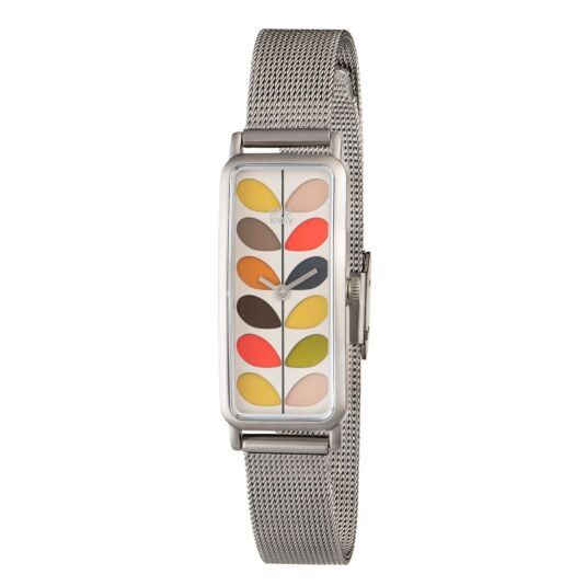 Multi-Stem Watch with Gunmetal Strap