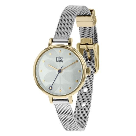 Ivy Watch with Silver Mesh Strap