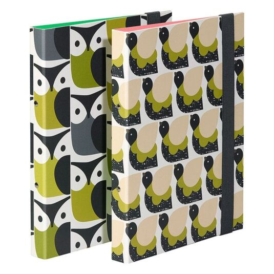 Ringbinders Set of Two – Birds