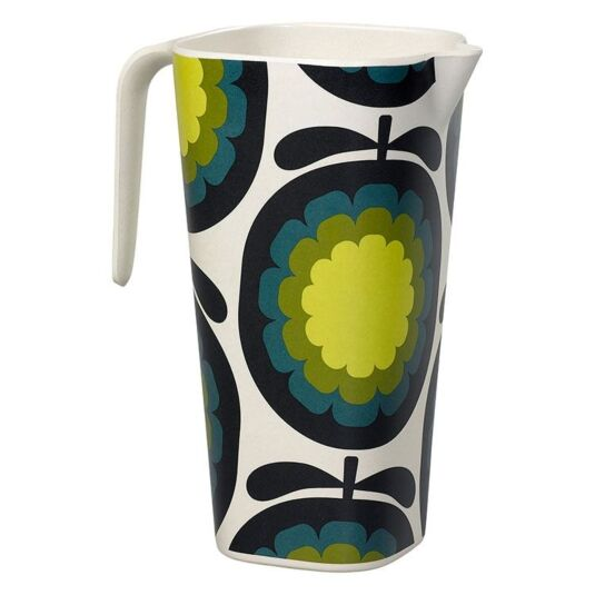 Melon Print Yellow Jug